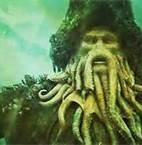 Davy Jones from Pirates movies