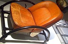 Ron Arad's first piece of art furniture ~ The Rover Chair.
