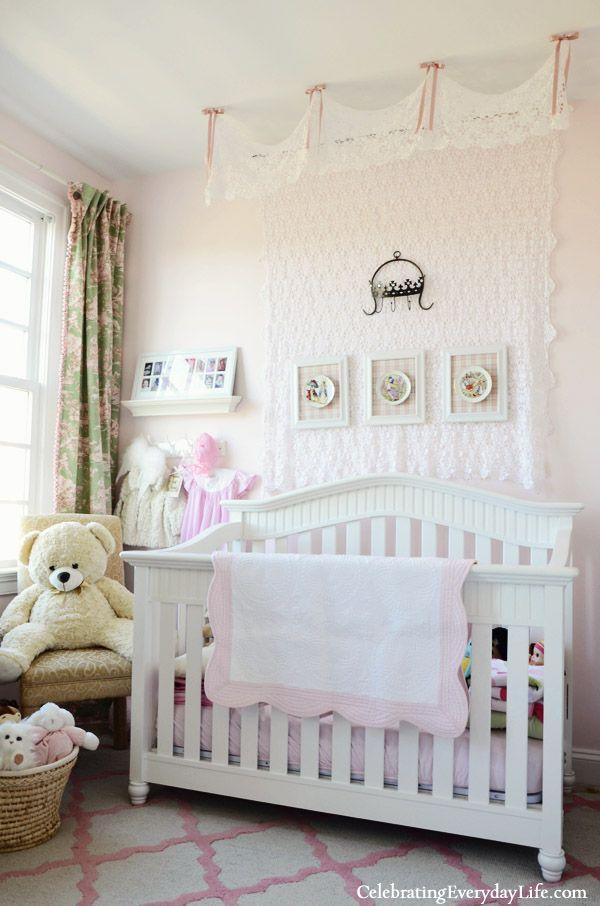 Best 25 little girl rooms ideas on pinterest girls for Nursery crown canopy