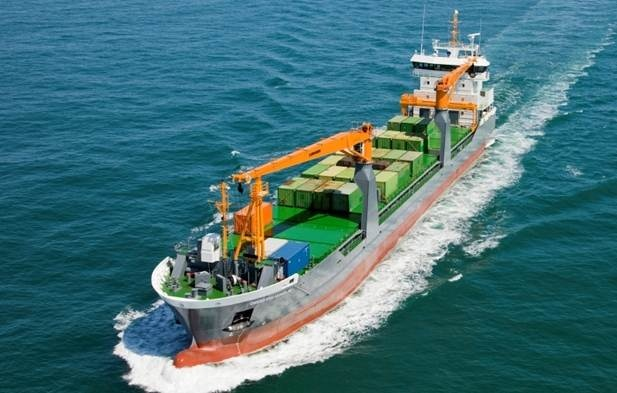 The Combi Freighter 'Onego Arkhangelsk'  was delivered to her managers ForestWave Navigation of the Netherlands http://www.damen.nl/news/deliveries/2011/07/cf-8200-onego-arkhangelsk