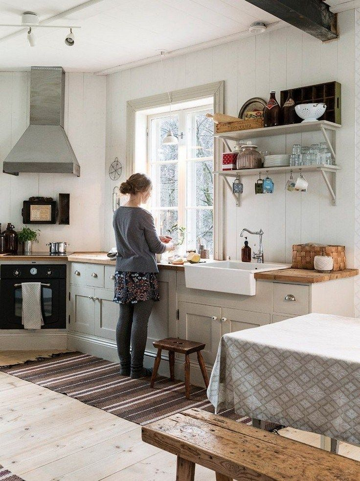 44 Attractive Kitchen Design Ideas On A Budget With Rustic Style