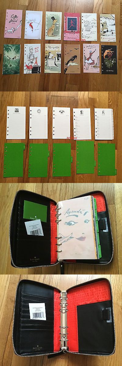Organizers and Day Planners 15735: Nwt Kate Spade Wellesley Zip Around Personal Organizer Planner Agenda $198 -> BUY IT NOW ONLY: $99 on eBay!