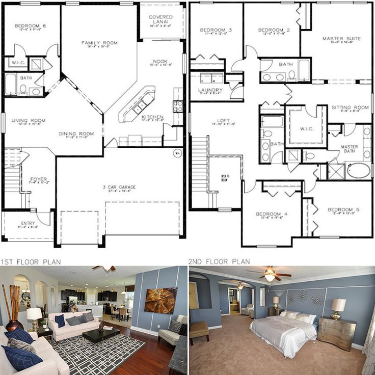 84 Best Images About Floor Plans On Pinterest 3 Car
