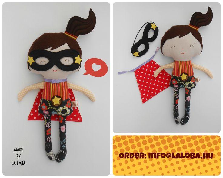 superhero girl, superwoman, dress up doll, ragdoll, la loba