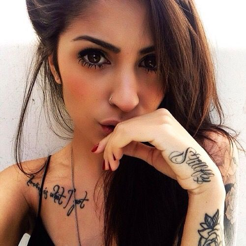 hand fetisch scheiden tattoo