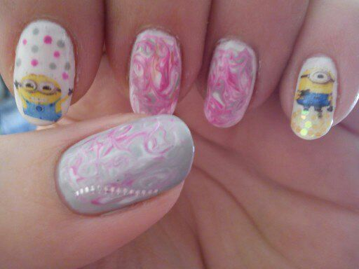minions and marble