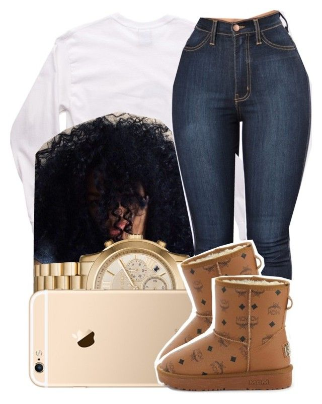 """""""125"""" by jalay ❤ liked on Polyvore featuring Michael Kors and MCM"""