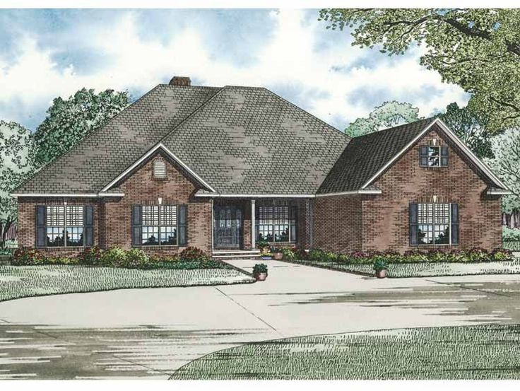 Contemporary-Modern House Plan with 2405 Square Feet and 4 Bedrooms from Dream Home Source | House Plan Code DHSW64316