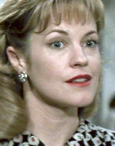 Melanie Griffiths in suspenseful WW2 drama, 'Shining Through', 1992.