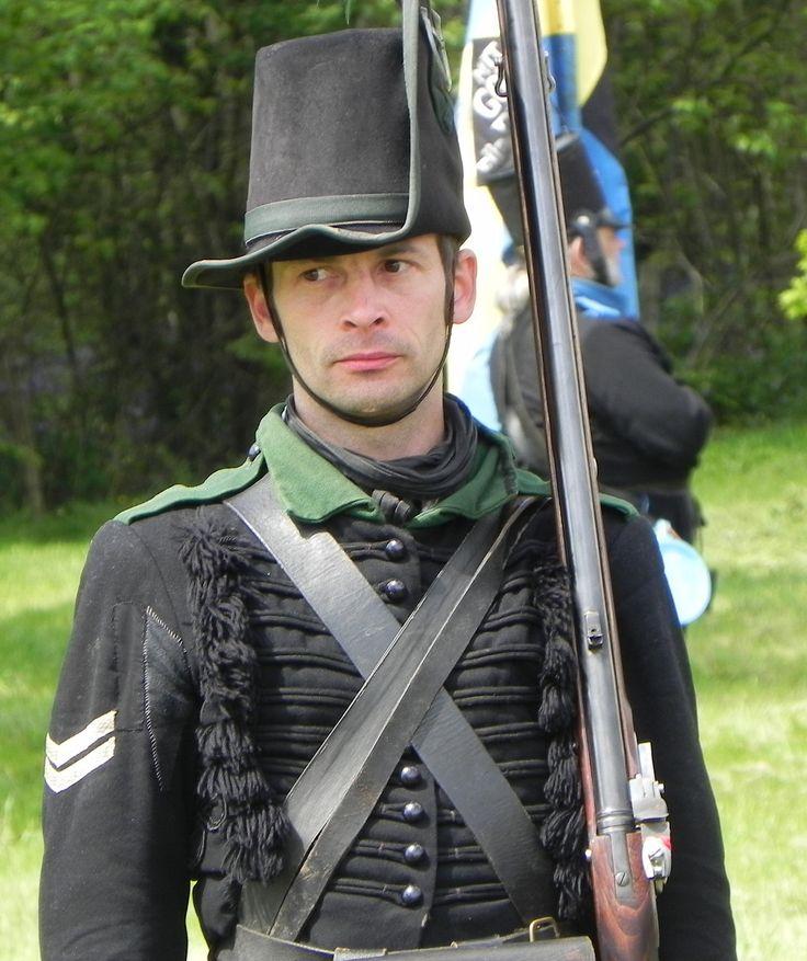 Fuciliere della fanteria leggera del ducato di Brunswick