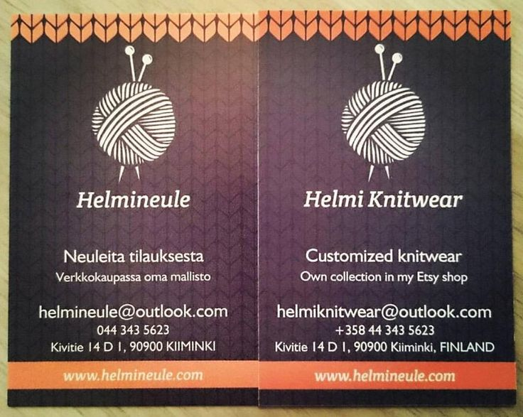 Uudet käyntikortit, new business cards