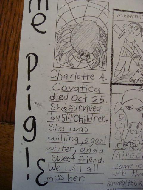 Charlotte's Obituary