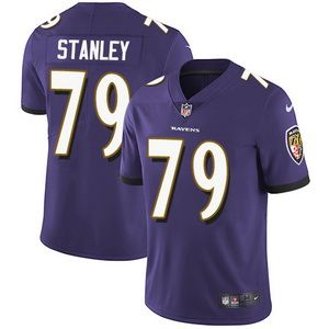 Nike Ravens #79 Ronnie Stanley Purple Team Color Men's Stitched NFL Vapor Untouchable Limited Jersey