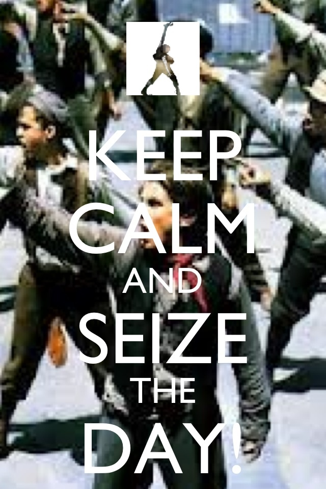 Only musical lovers will appreciate this <3 The Newsies