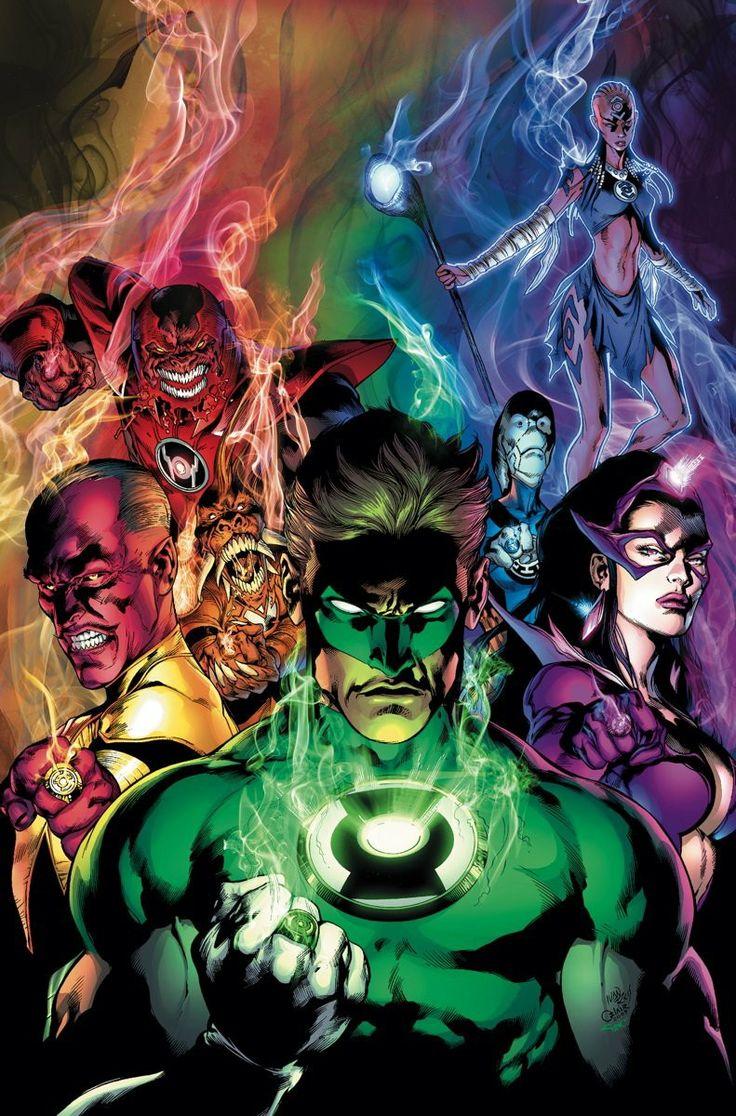 Todos Os Tipos De Lanternas Que Há Nos Multiversos.
