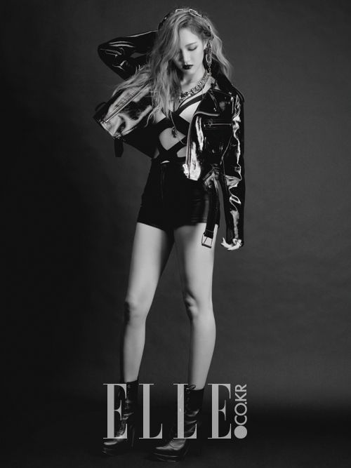 miss A's Jia Elle Korea Magazine December 2013