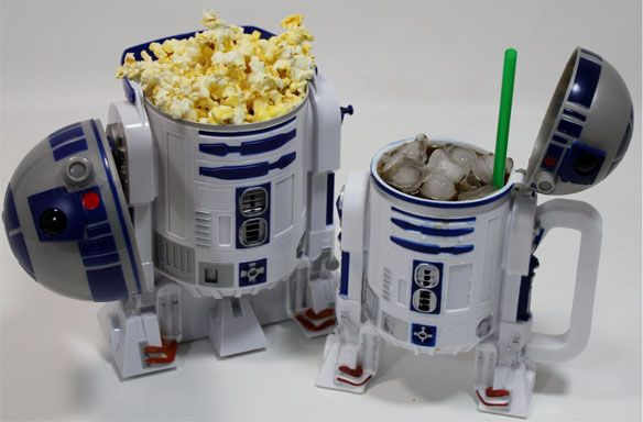 R2 D2 Cinema companion! These are the droids you are looking for ;)Geek, Movie Marathons, Disney Stars, R2D2, Star Wars, Popcorn Buckets, Stars Wars, Movie Night, Starwars