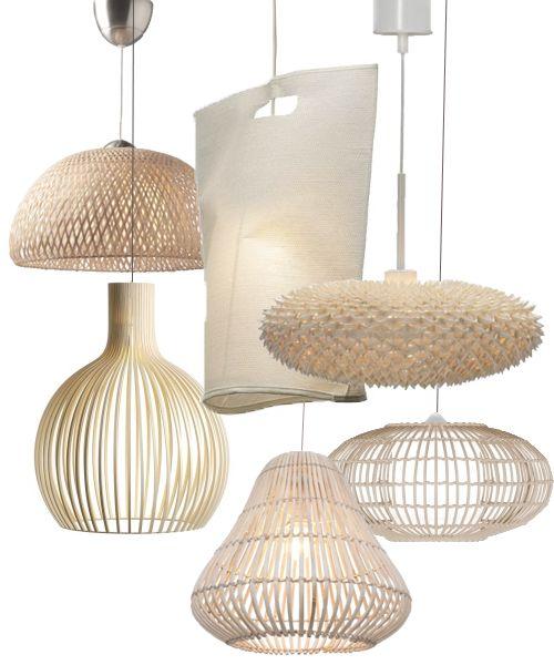 Lamps cream lampslaser cut