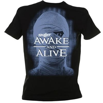 Skillet  Awake Tshirt  Band tees  Shirts Band shirts