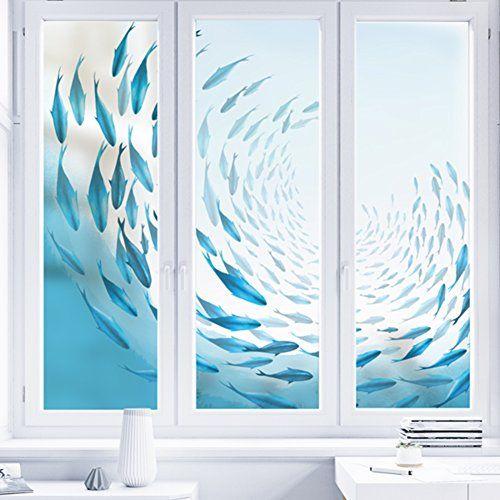 yq whjb frosted glass film privacy window films static decorative rh pinterest com