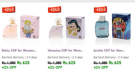 #‎PERFUMES‬ FOR ‪#‎WOMEN‬ & ‪#‎MEN‬!!  Get 42% OFF on York perfumes are known for its sophisticated ‪#‎fragrances‬ and it's value for ‪#‎money‬.