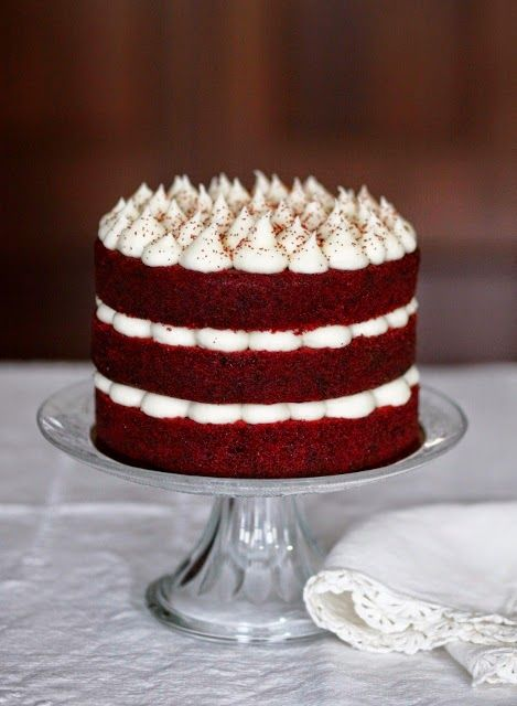 Bikísimas: RED VELVET NAKED CAKE                                                                                                                                                     Más