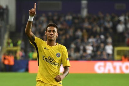 Neymar will be automatically suspended must learn says PSGs Emery