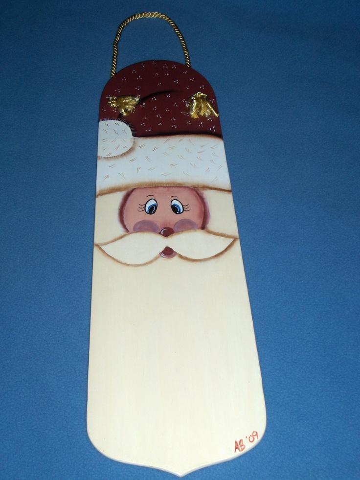 Ceiling fan blade Santa