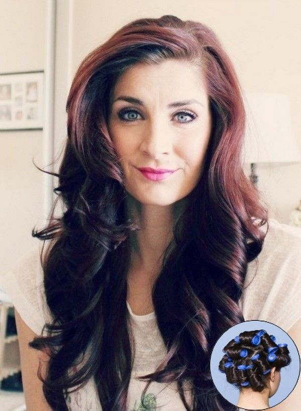 Best Way To Use Hot Rollers Hair Pinterest Hair Hair Styles