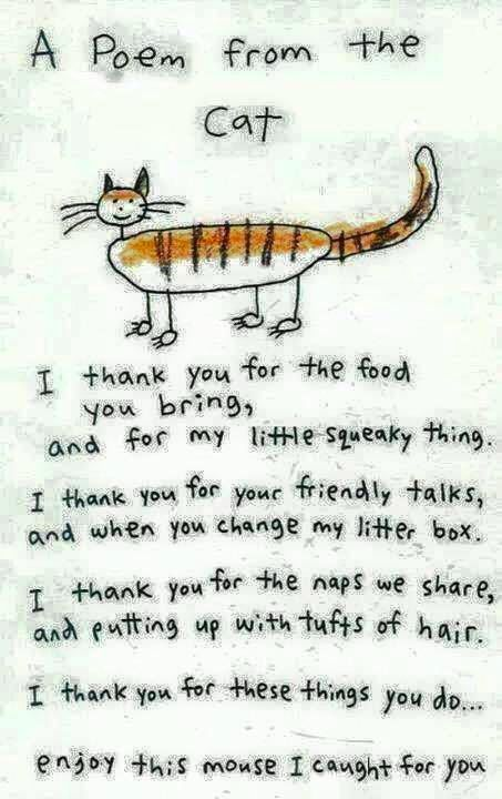 A lovely poem by Puss Kipling!