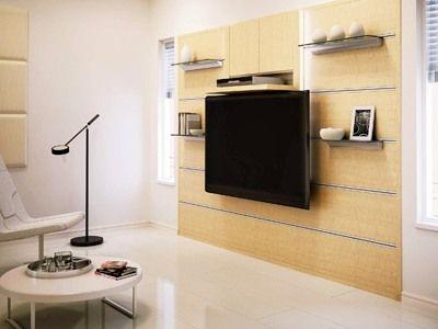 壁埋め込み収納ボックスとパネルを組み合わせたシステム。ギャラリーと収納を兼ねたインテリア性の高いハンギング収納(Newレセプト/大建工業)