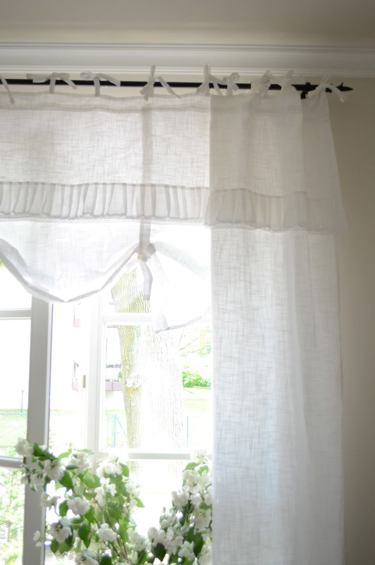 bedroom window treatment white grey black chippy. Black Bedroom Furniture Sets. Home Design Ideas