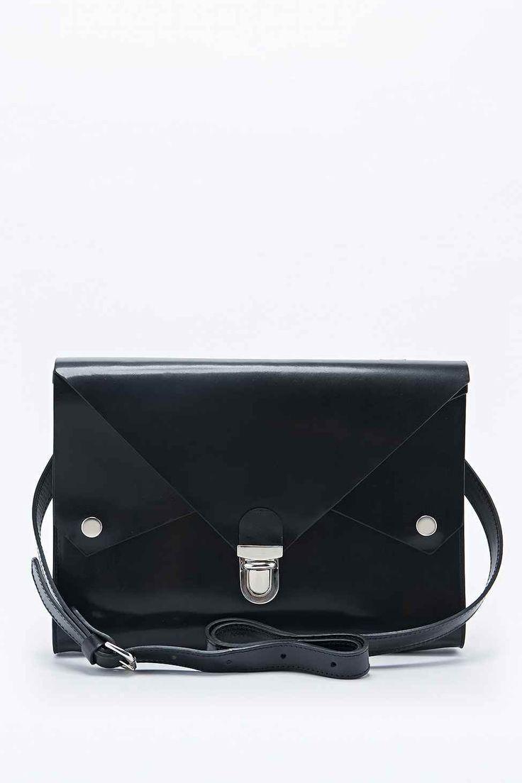 Kate Sheridan Tuck Tite Bag in Black