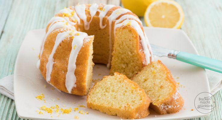 Saftiger Zitronen-Gugelhupf mit Öl. Der Joghurt-Gugelhupf ist schnell zubereitet und wunderbar flaumig. Genau der richtige Kuchen für Besuch!