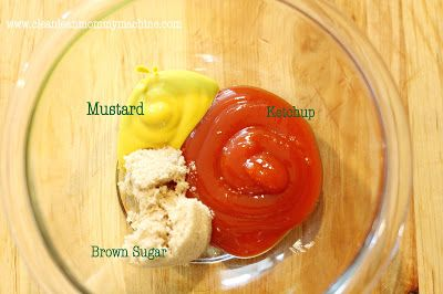 THE BEST Meatloaf Sauce: Ketchup, Mustard, Brown Sugar!