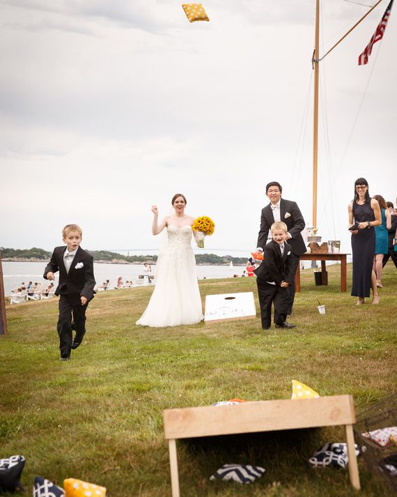 For an outdoor wedding, we can't think of a more appropriate source of…