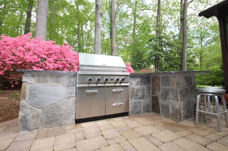 Pin by fran bruner on back porch ideas pinterest for Outdoor cooking station ideas