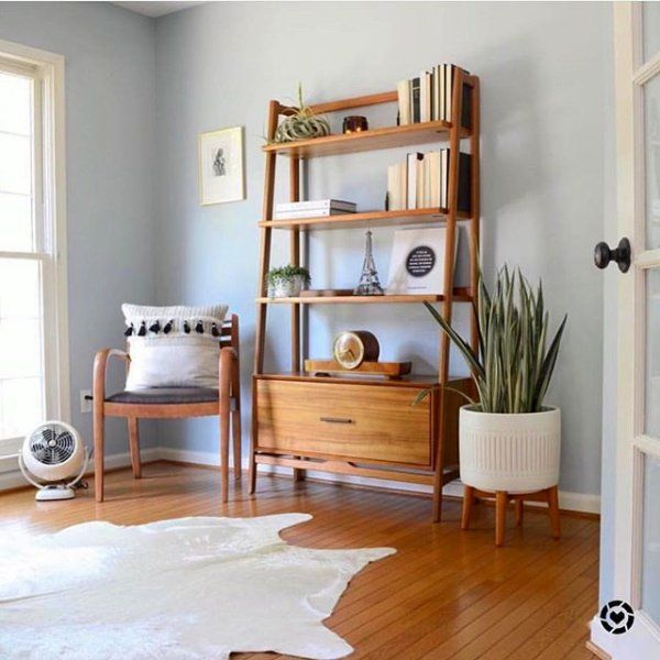 West Elm Mid Century Bookshelf – Wide Tower, Acorn Finish – Bookcases – Bookshelves – Standing Shelves