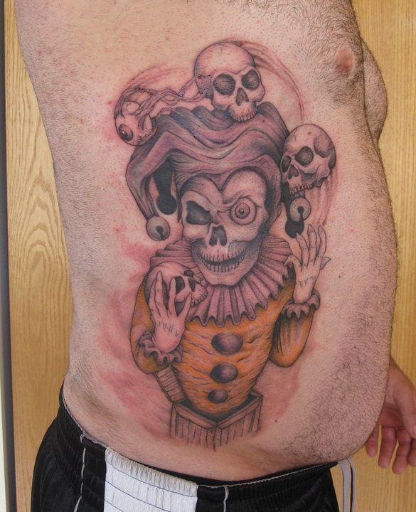 Evil Jester Tattoo....