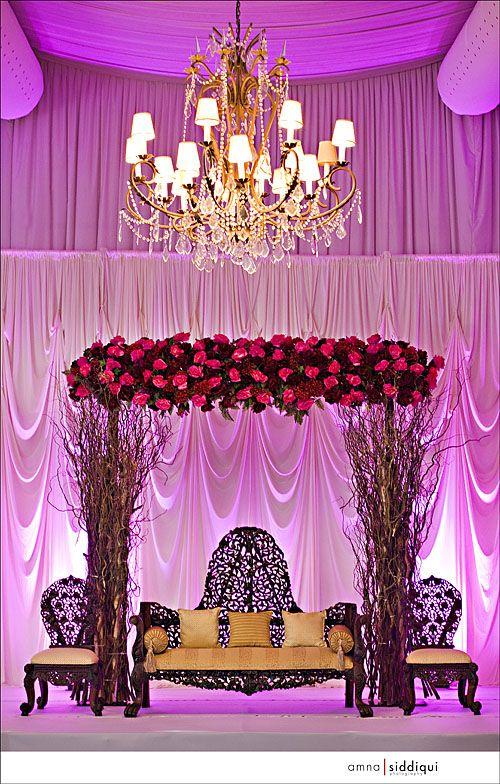 #Pinkuplighting sooo makes this mandap! DIY and get the look http://RentUplights.com
