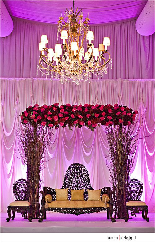 Branches + Flowers Mandap.