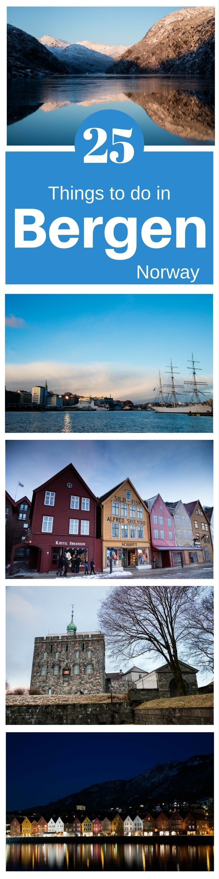 Norway is known for its winter fun, but did you know that Bergen has it all right there in one city? Check out our 25 things to do in Bergen in winter. #Norway #winter #Europe