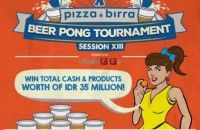 Yuk Ikutan Beer Pong Tournament di Pizza e Birra!