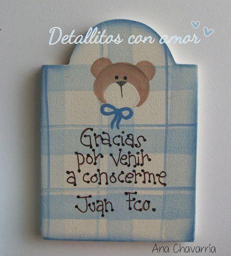 Detalles para recibir a tu bebé <3 | Baby shower niño!! | Pinterest