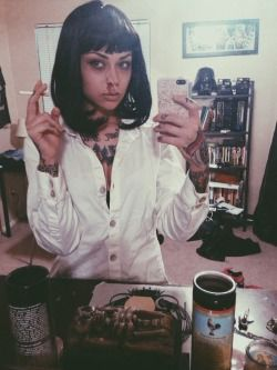 mia pulp fiction costume idea
