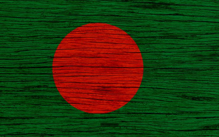 Download wallpapers Flag of Bangladesh, 4k, Asia, wooden texture, Bangladesh national flag, national symbols, Bangladesh flag, art, Bangladesh