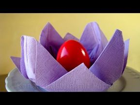 In this tutorial, I'll provide instructions on how to set a table with napkin folding. I'll show you how to fold a napkin into a rose or flower. I love napki...