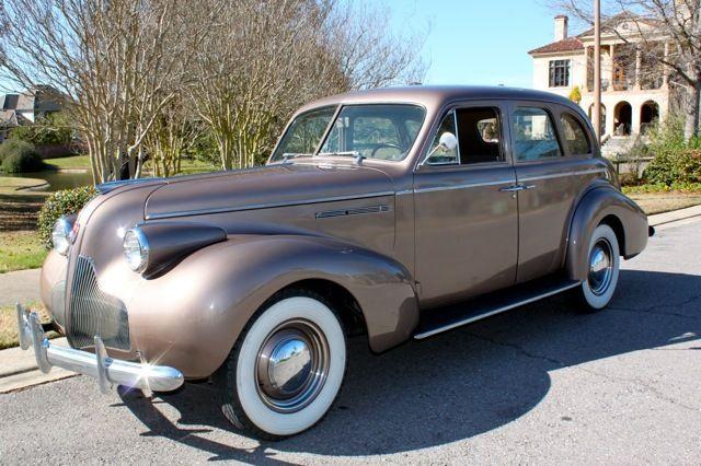 1939 Buick Sedan.