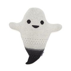Soft Toy / Cushion . Knitted - Ghost