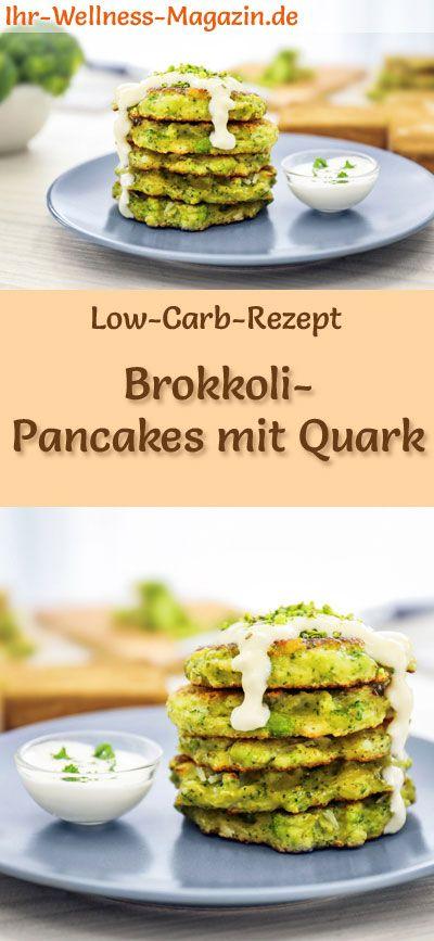 Low Carb Rezept für Brokkoli-Pfannkuchen mit Quark: Low Carb, herzhafte Pf …   – Low Carb Pancakes & Pfannkuchen – Rezepte